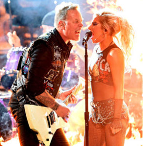 metallica lady gaga news